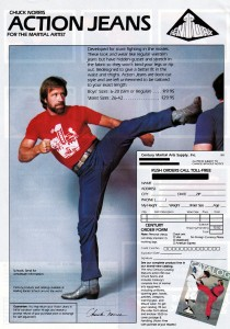 Chuck Norris Action Crotch Jeans